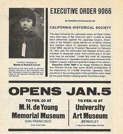 Celebrating the California Historical Society's 1972 Landmark Exhibition and Book <em>Executive Order 9066</em>