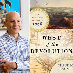 Holiday Bookstore Event: Meet the Author of West of the Revolution, Claudio Saunt