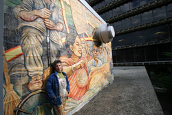 <p><strong>A Public Conversation:</p></strong> <p><strong>Muralist Juana Alicia: Public Art and Feminism in the Bay Area</p></strong>