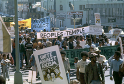<p>Discussing Peoples Temple:</p> <p>Understanding Social, Cultural, and Political Influences on the Peoples Temple Movement</p>