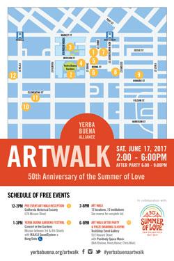 Yerba Buena Art Walk: 50th Anniversary of the Summer of Love