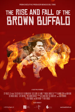<p><em>¡Murales Rebeldes!</em> Film Series:</p> <p><em>The Rise and Fall of the Brown Buffalo</em></p>