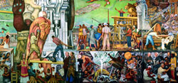 <p>CHS Member Event:</p> <p> Explore Diego Rivera's Pan Unity Mural with Mural Steward Will Maynez</p>