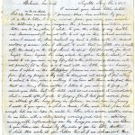 """To pore it out to you in silence"": the Gold Rush correspondence of William and Mary Monroe"