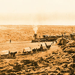 Overland to California: Commemorating the Transcontinental Railroad