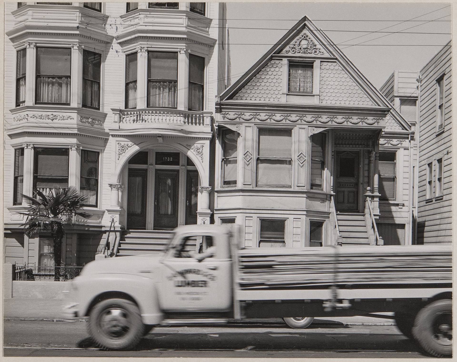 Minor White Photograph, 1732 Bryant Street, San Francisco, 1948