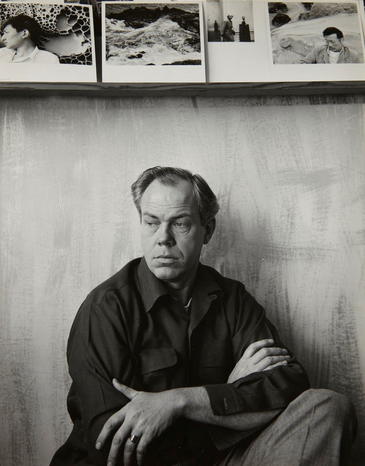 Portrait of Minor White from Princeton