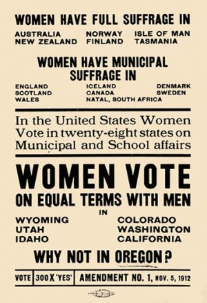 Suffrage Handbill